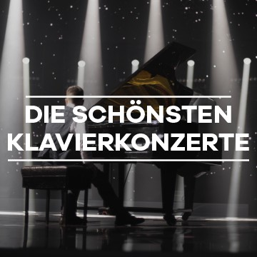 Die schönsten Klavierkonzerte streamen